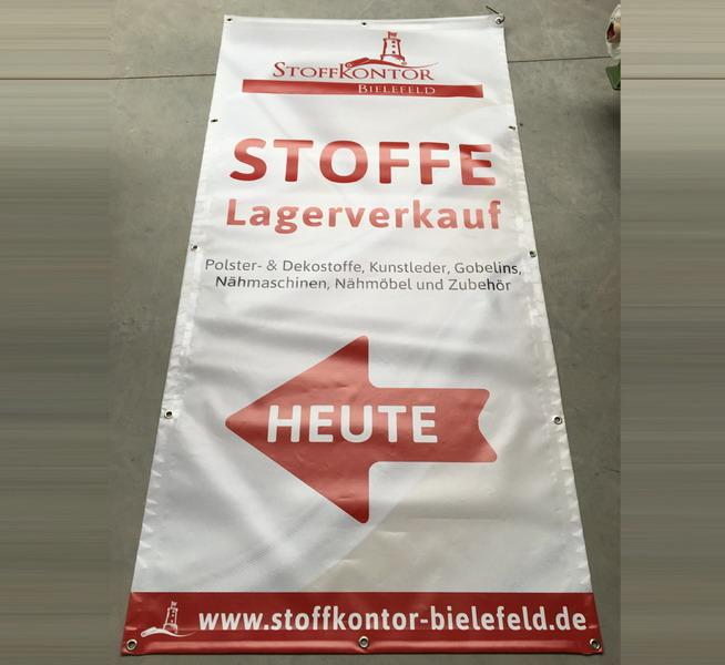 Banner / Plane für Event