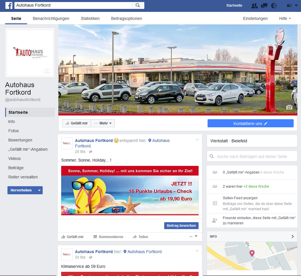 FB: Autohaus Fortkord