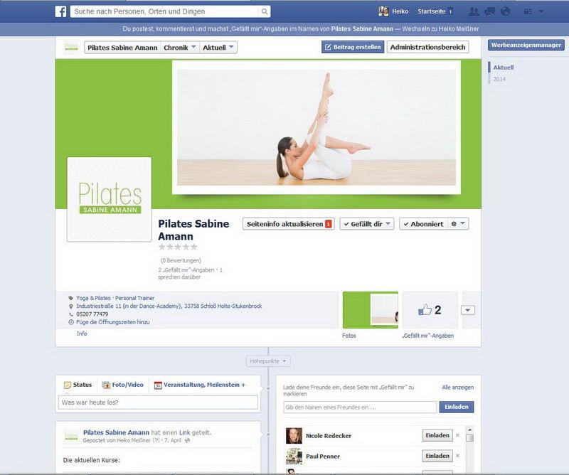 FB: Sabine Amann Pilates