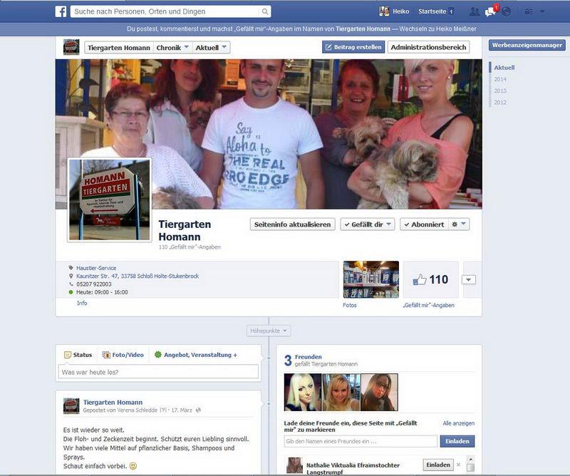 FB: Tiergarten Homann