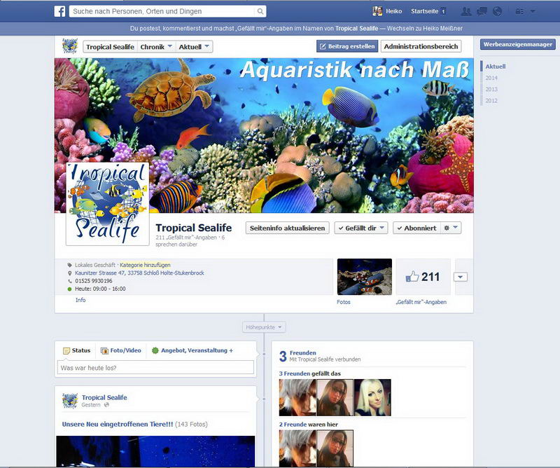 FB: Tropical Sealife