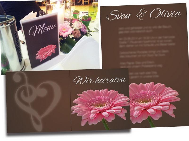 Hochzeits-Gestaltung