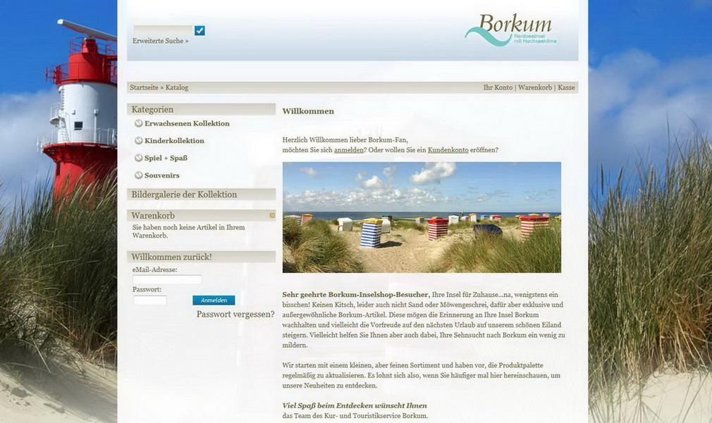 Borkum-Inselshop