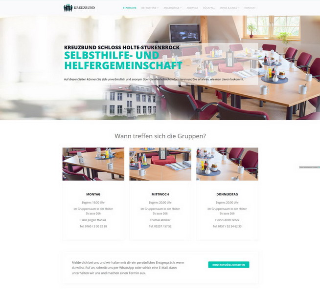 Relaunch Kreuzbund SHS