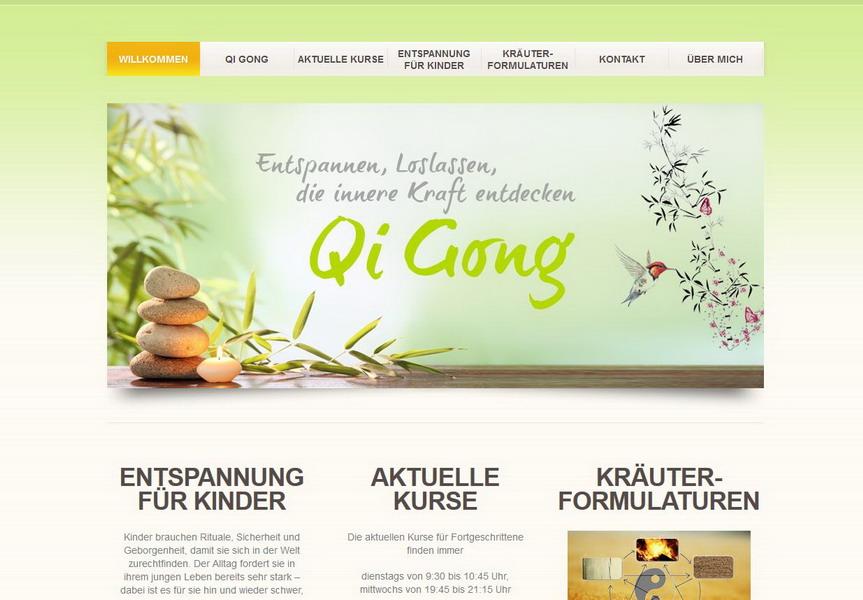 Qi-Gong Training Schloß Holte