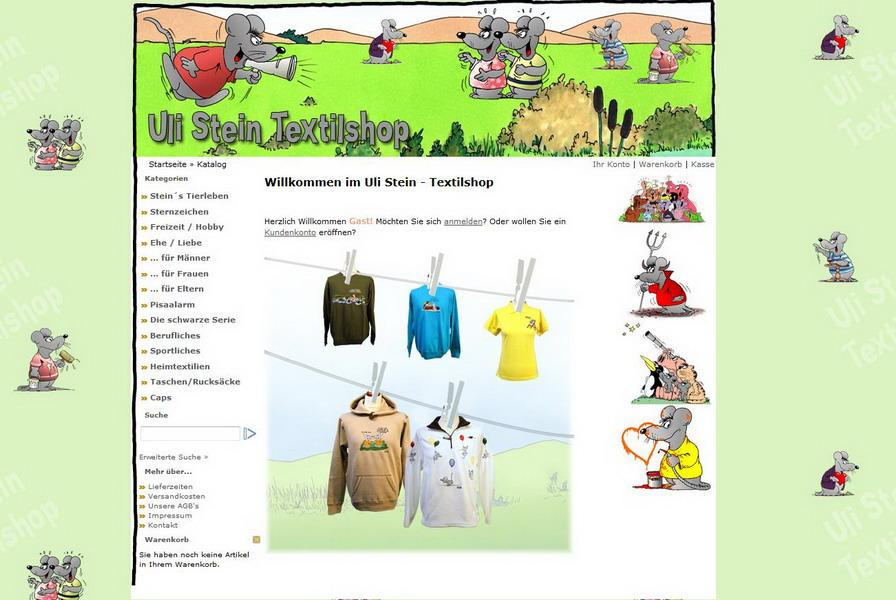 Uli Stein - Textilshop