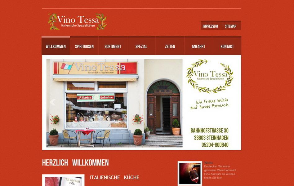 Vino Tessa - Italienische Spezialitäten
