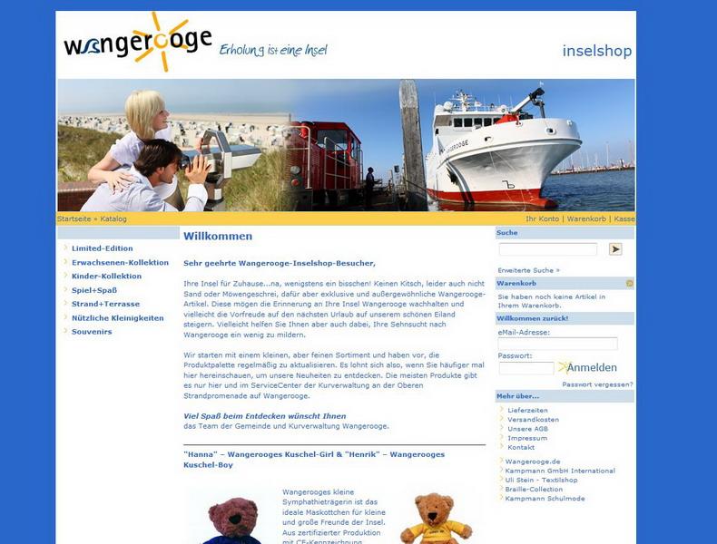 Wangerooge-Inselshop